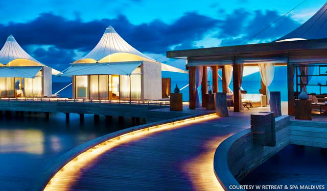 Maldives net mv w retreat spa maldives welcomes dj paul rees
