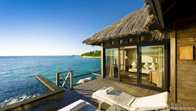 Waldorf astoria hotels resorts launches the great for Hilton hotels in maldives