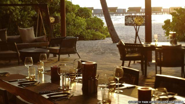 The Island Grill - Park Hyatt Maldives Hadahaa