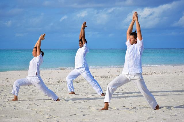 Six Senses Laamu Meditation