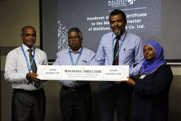 Maldives main airport completes IATA Safety Audit for Ground Operations