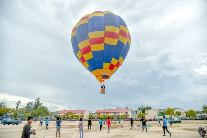 Festival paves way for hot air balloon excursions in Maldives