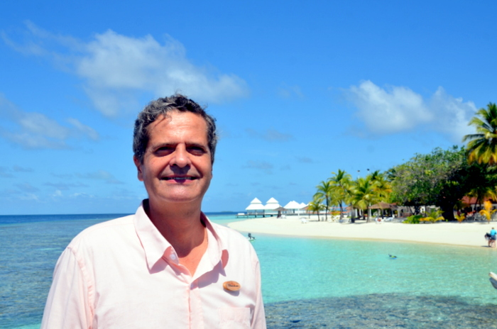 Thomas Weber: going back to roots at Diamonds Thudufushi, Diamonds Athuruga