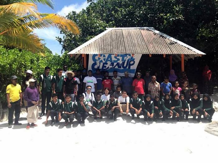 JA Manafaru joins International Coastal Cleanup initiative