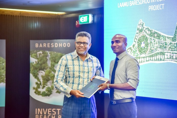 Three plots awarded from Maldives first integrated guesthouse island