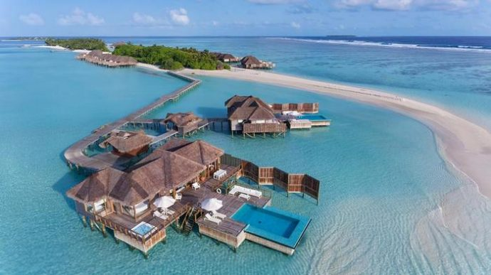 Conrad Maldives Rangali Island Has Been Crowned The Best Beach Resort In World