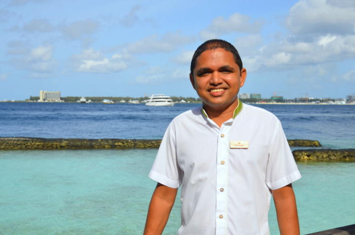 Through transformation, Kurumba Maldives' young Operations Manager Ali Farooq sets the bar high