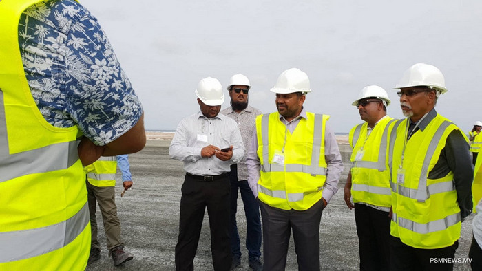Test flights to new intl airport in Maldives north set for July