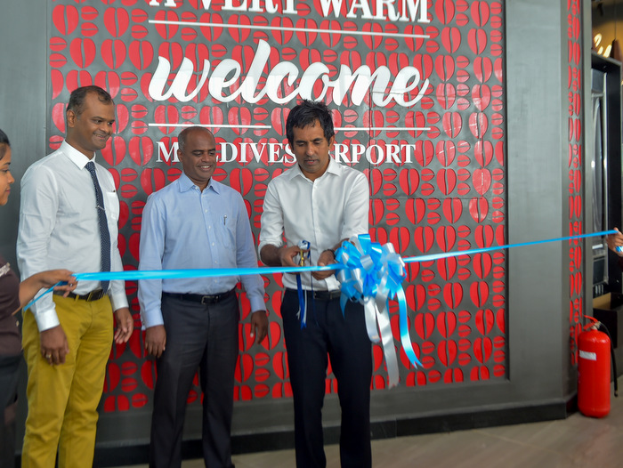 New F&B complex at Maldives main airport opens with intl fast food outlets