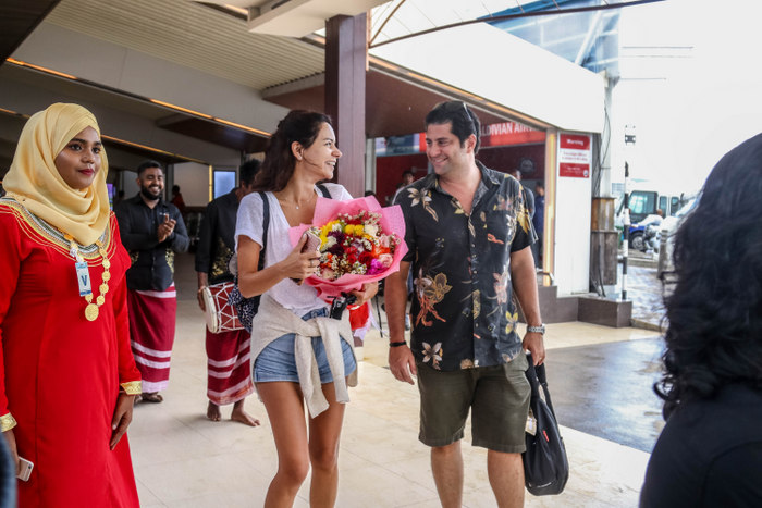 Maldives welcomes one millionth visitor of 2018