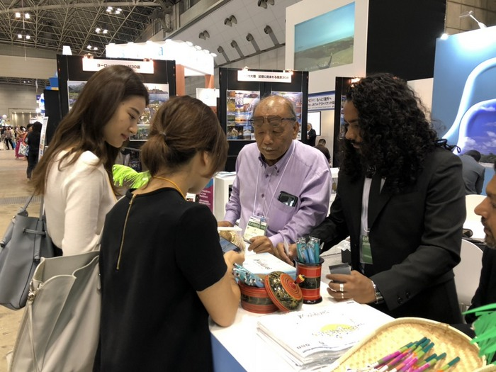 Maldives showcased at Japan's largest travel fair Tourism EXPO Japan