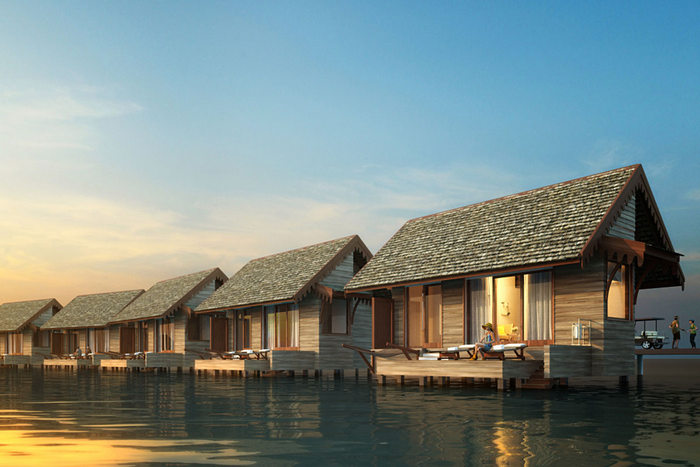 Maldives' first Curio Collection by Hilton hotel, SAii Lagoon Maldives to open in 2019