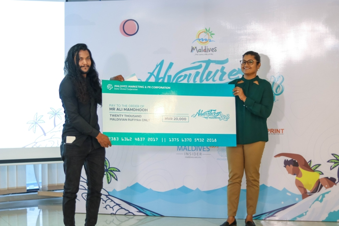 Winners of Adventures of Maldives Video Competition 2018