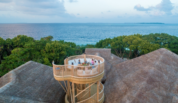 Soneva Fushi completes latest five-bedroom villa with 11m tall viewing tower