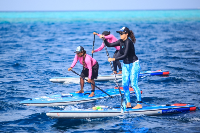Four women complete unprecedented 'Stand Up For Our Seas' paddleboard expedition, raises  awareness on plastic pollution