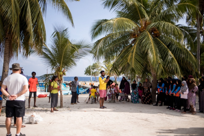 Soneva Fushi hosts, communities come together for island clean-up