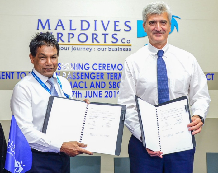 Maldives signs revised contract with Saudi Binladin Group to complete new airport terminal by 2022