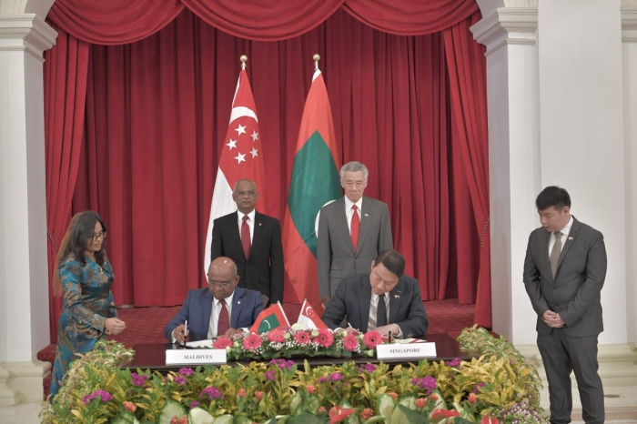 Maldives, Singapore ink pact to boost air connectivity