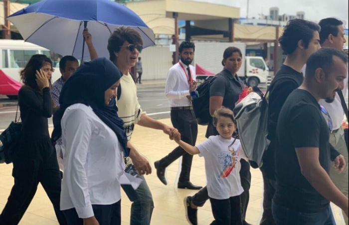 Bollywood superstar Shah Rukh Khan in Maldives for family getaway