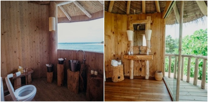 Soneva's loos, bathtubs with views