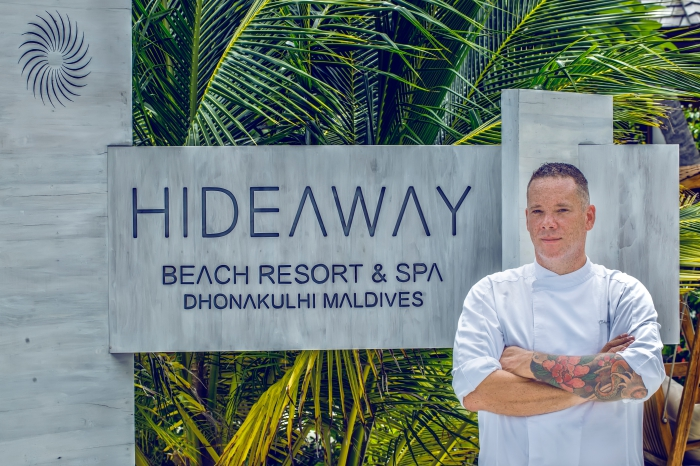Hideaway Beach Resort appoints acclaimed French Chef Sebastien Pinson as Executive Chef
