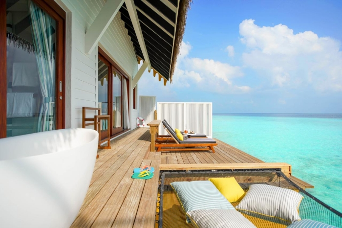 SAii Lagoon, Maldives' first Curio Collection by Hilton hotel, opens