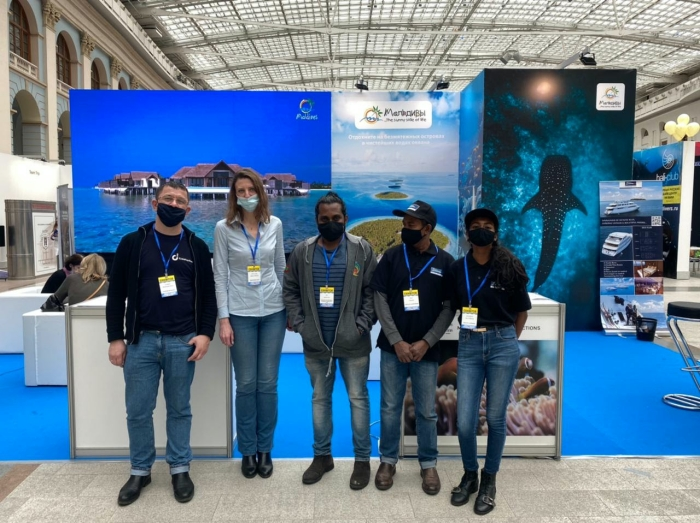 Visit Maldives takes part in Moscow Dive Show