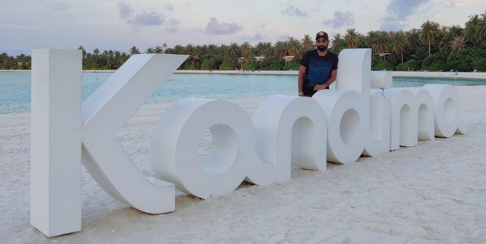 Indian cricketer Mohammad Shami rejuvenates at Kandima Maldives ahead of cricket season