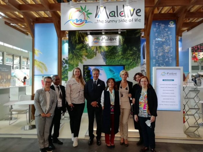 Visit Maldives takes part in TTG Travel Experience 202