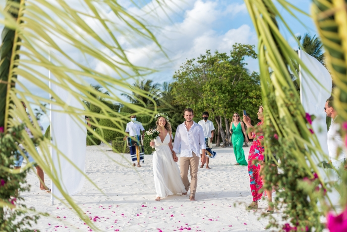 Say 'I do' in paradise: LUX* South Ari Atoll launches zero waste weddings